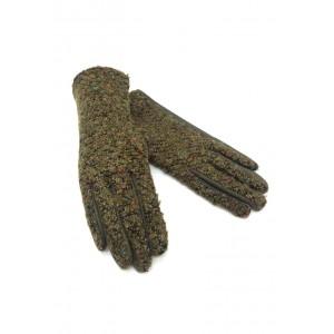 gants tactile au fil à boucles